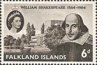 [The 400th Anniversary of the Birth of William Shakespeare, 1564-1616, type CE]