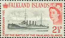 [The 50th Anniversary of Battle of the Falkland Islands, type CF]