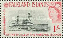 [The 50th Anniversary of Battle of the Falkland Islands, type CH]