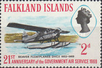 [The 21st Anniversary of Government Air Services, type DB]