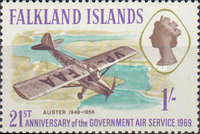 [The 21st Anniversary of Government Air Services, type DD]