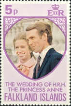 [Royal Wedding of Princess Anne and Mark Phillips, Typ ET]