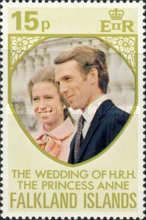 [Royal Wedding of Princess Anne and Mark Phillips, Typ ET1]