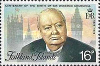 [The 100th Anniversary of the Birth of Sir Winston Churchill, 1874-1965, type FC]