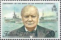 [The 100th Anniversary of the Birth of Sir Winston Churchill, 1874-1965, Typ FD]
