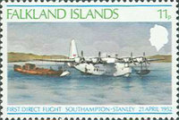 [The 26th Anniversary of First Direct Flight, Southampton-Port Stanley, Typ GQ]
