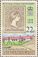 [The 100th Anniversary of First Falkland Islands Postage Stamp, Typ GY]