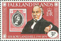 [The 100th Anniversary of the Death of Sir Rowland Hill, 1795-1879, type HI]