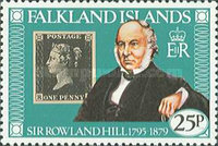 [The 100th Anniversary of the Death of Sir Rowland Hill, 1795-1879, type HK]
