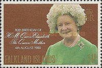 [The 80th Anniversary of the Birth of Queen Elizabeth the Queen Mother, 1900-2002, type IB]