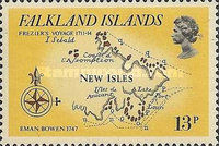[Early Maps of Falkland Islands, Typ IQ]