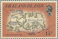 [Early Maps of Falkland Islands, Typ IR]