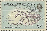 [Early Maps of Falkland Islands, Typ IS]