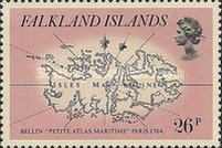 [Early Maps of Falkland Islands, Typ IT]
