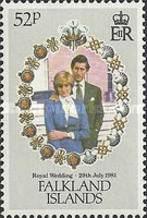 [Royal Wedding of Prince Charles and Lady Diana Spencer, Typ IW]