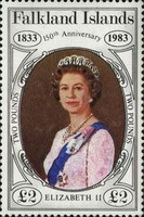 [The 150th Anniversary of British Administration, Typ KP]