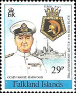[The 75th Anniversary of the Battle of the Falkland Islands and the 50th Anniversary of Battle of the River Plate, Typ QB]