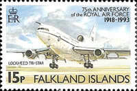 [The 75th Anniversary of Royal Air Force, type SO]