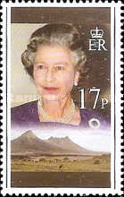 [The 70th Anniversary of the Birth of Queen Elizabeth II, Typ VY]