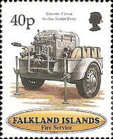 [The 100th Anniversary of Falkland Islands Fire Service, type XL]