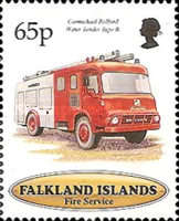 [The 100th Anniversary of Falkland Islands Fire Service, type XM]