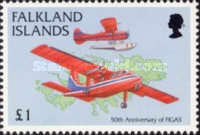 [The 50th Anniversary of Falkland Islands Government Air Service, type YL]