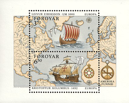 [EUROPA Stamps - Voyages of Discovery in America, type ]