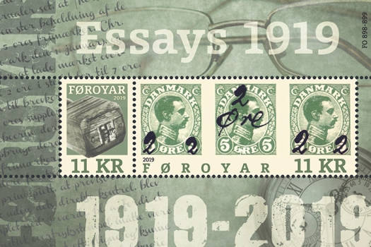 [The 100th Anniversary of the Faroese Provisionals of 1919, type ]