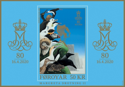 [The 80th Anniversary of the Birth of Queen Margrethe II, type ]