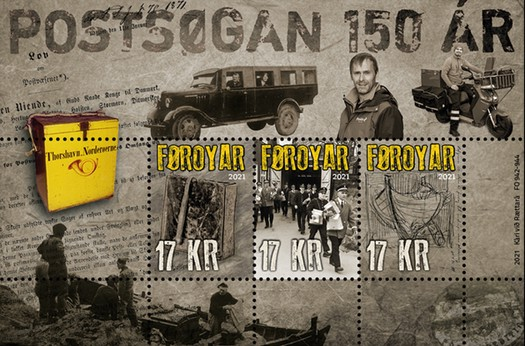 [The 150th Anniversary of Faroe Islands' Postal Services, type ]