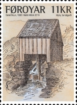 [Old Watermills, type AHY]