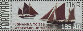 [The 135th Anniversary of the Faroese Fishing Fleet, type AIK]