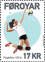 [Sports - The 125th Anniversary of Volleyball, Typ AIS]