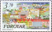 [The 125th Anniversary of Tórshavn, type GX]