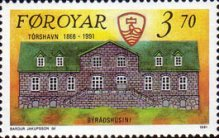 [The 125th Anniversary of Tórshavn, type GY]