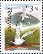 [Faroese Birds - Arctic Tern and Kittiwake, type HB]