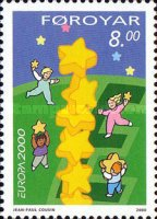 [EUROPA Stamps - Tower of 6 Stars, type MV]