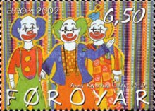 [EUROPA Stamps - The Circus, type OQ]