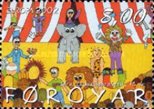 [EUROPA Stamps - The Circus, type OR]