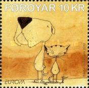 [EUROPA Stamps - Children's Books, type ZH]