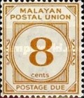 [Postage Due Stamps - New Colors, type B9]