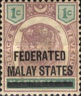 [Negri Sembilan Postage Stamps Overprinted, Typ A]
