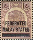 [Negri Sembilan Postage Stamps Overprinted, Typ A1]