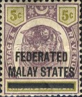 [Negri Sembilan Postage Stamps Overprinted, Typ A3]