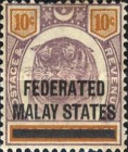 [Negri Sembilan Postage Stamps Overprinted, Typ A4]
