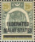 [Negri Sembilan Postage Stamps Overprinted, Typ A5]