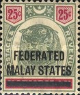 [Negri Sembilan Postage Stamps Overprinted, Typ A6]