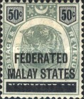 [Negri Sembilan Postage Stamps Overprinted, Typ A7]