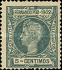 [King Alfonso XIII, type AF]