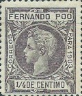 [King Alfonso XIII - Control Numbers on Back Side, type AG]